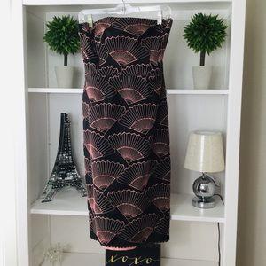 Nanette Lepore Strapless, Pink/Black Dress